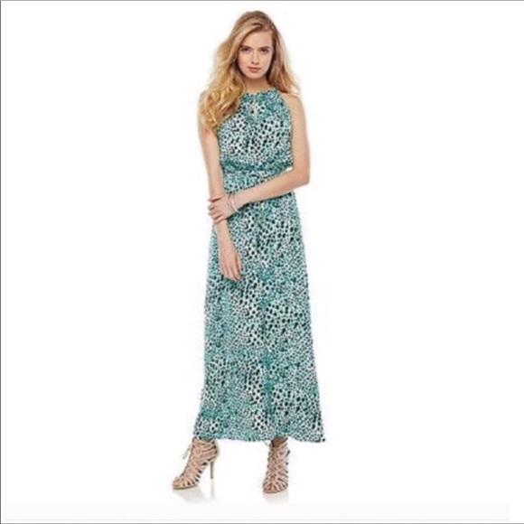 ec8cec0e5e53 Jennifer Lopez Dresses & Skirts - Jennifer Lopez Animal Print Maxi Dress